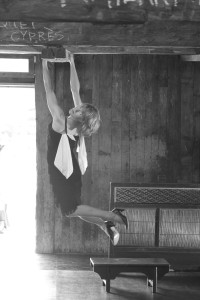 hanging barn