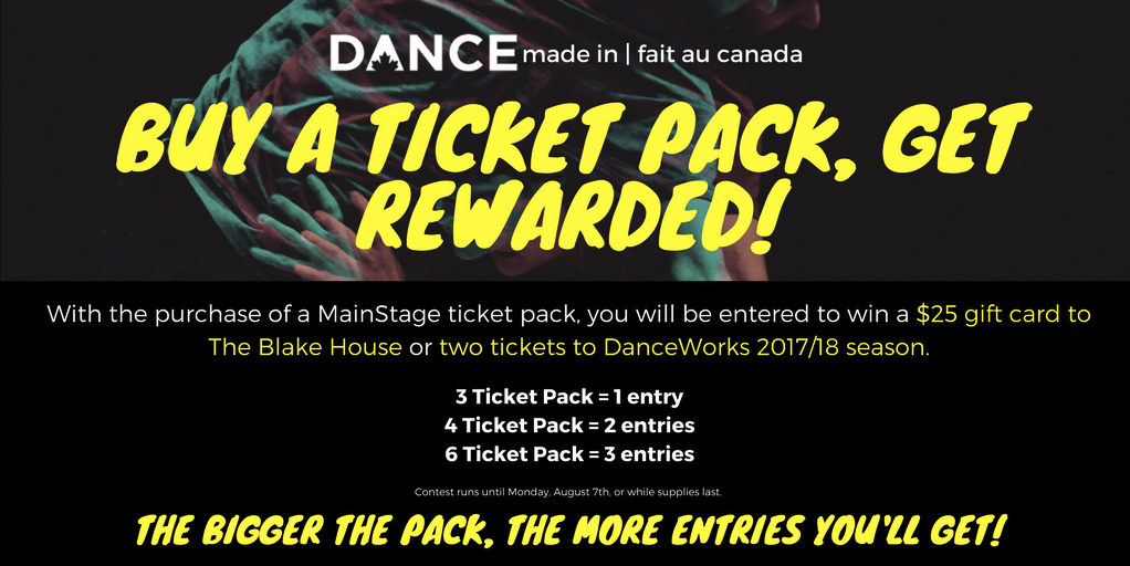 MainStage Ticket Pack Contest – Win A $25 Gift Certificate To The Blake House!