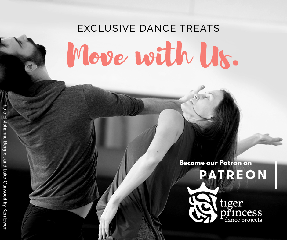 Support Tiger Princess Dance Projects! Announcing Our NEW Patreon Page