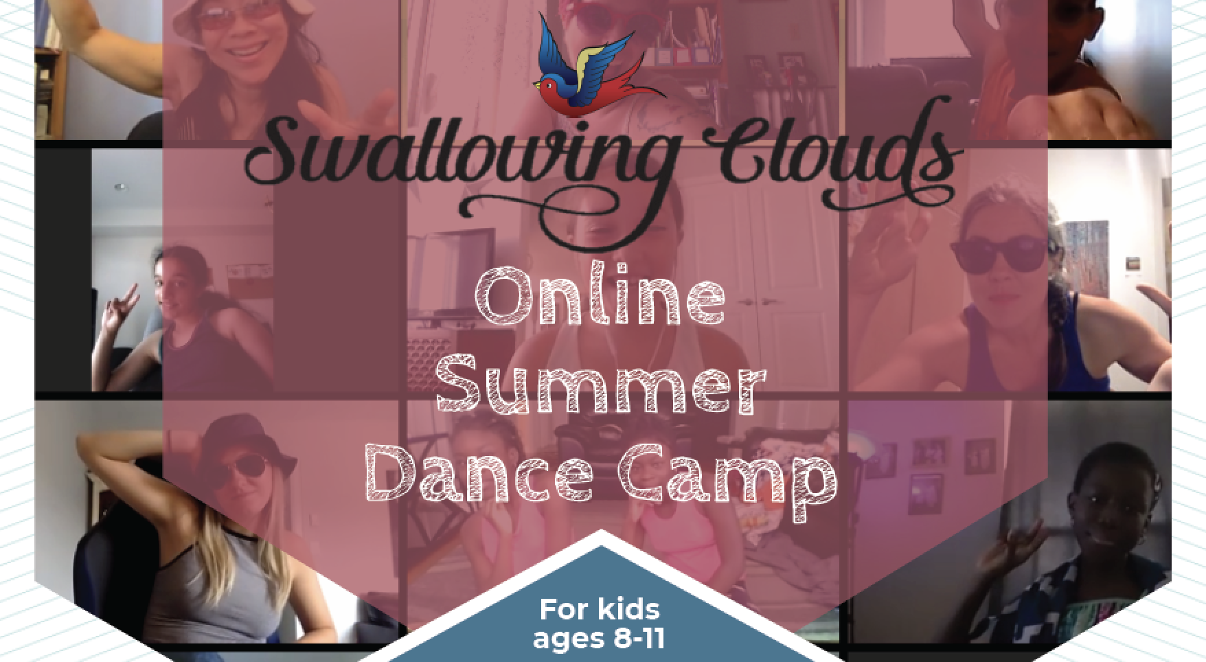 Join Us This August For Swallowing Clouds™ Online Dance Camp!